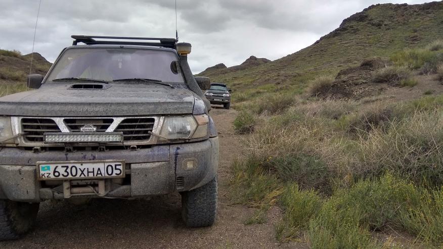 Off road adventure in Kazakhstan