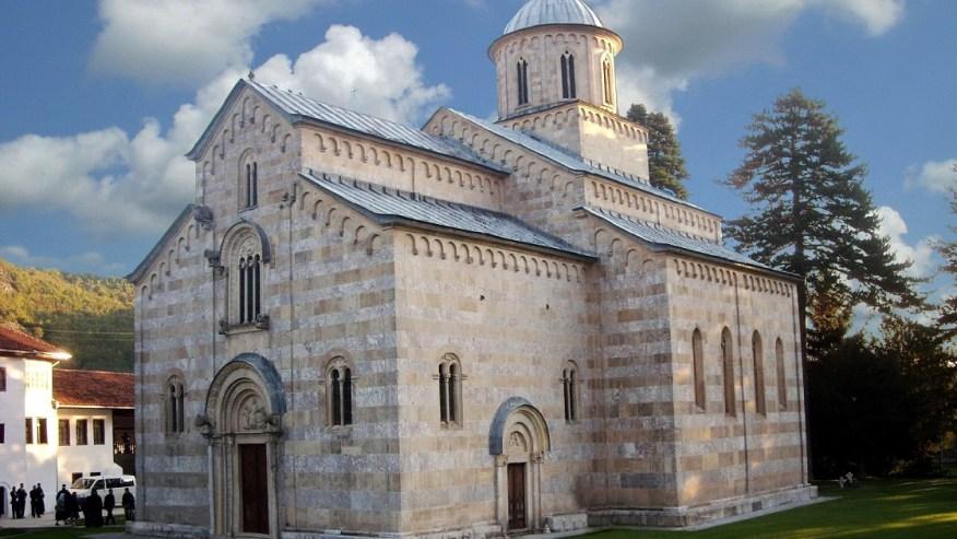 Visoki decani church