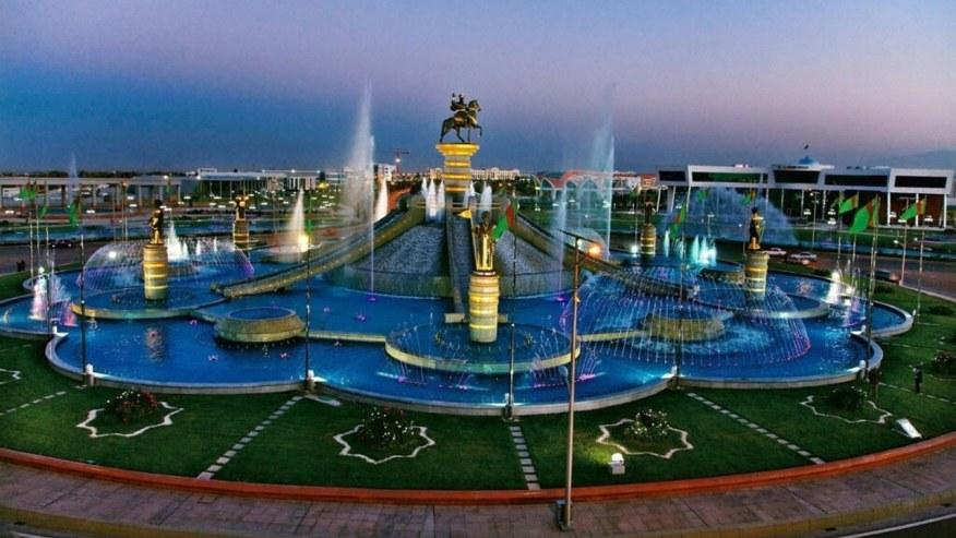 Oguzhan fountain