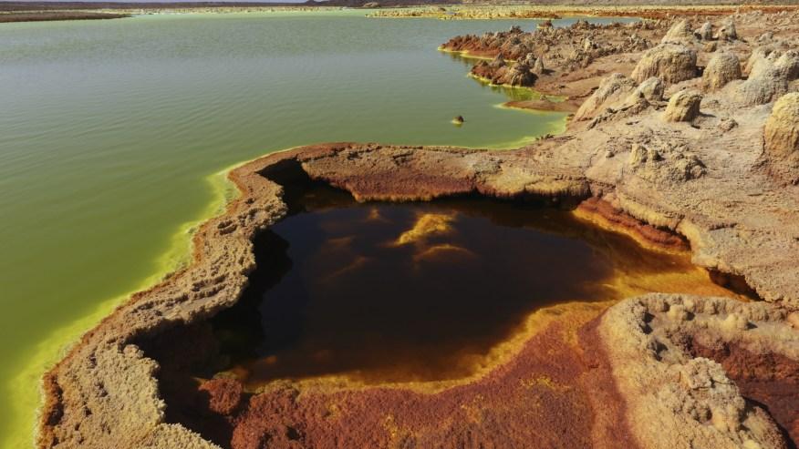 Dallol Volcano in Danakil Depression