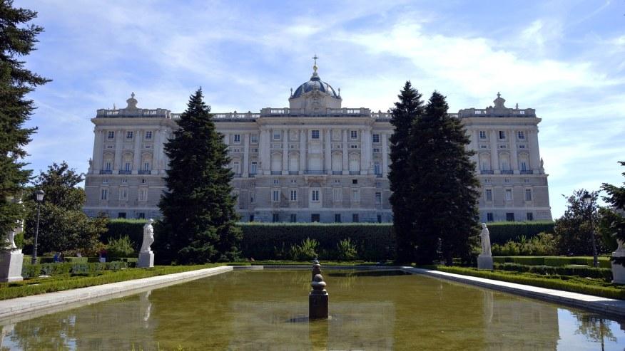 Royal Palace evening view