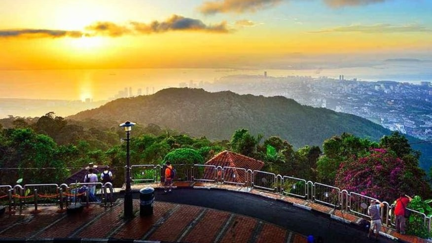 View from Penang Hill