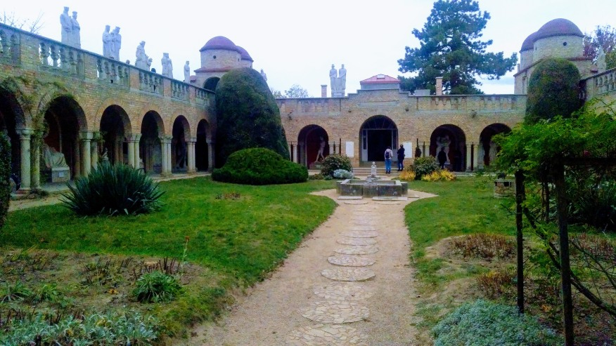 Courtyard of Bory Castle