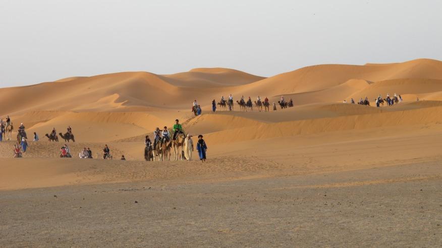 Stay the Night in the Sahara Desert