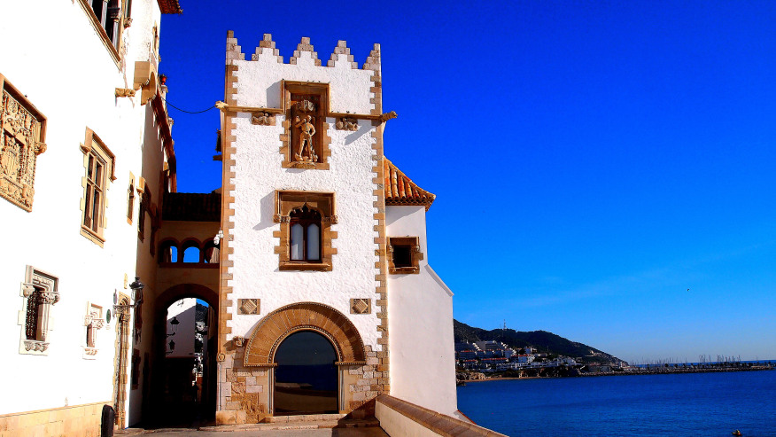 Colonial Architecture in Sitges