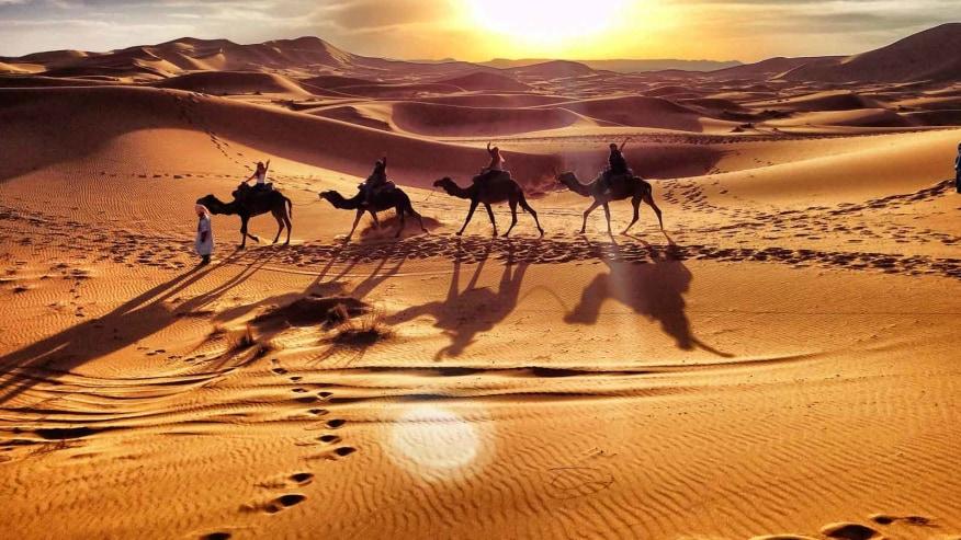 Cherish Your Time in the Sahara