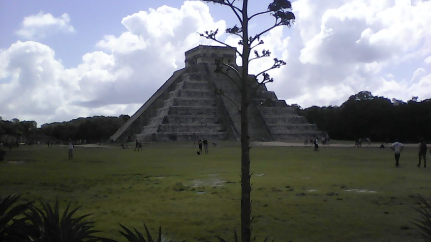 The Castle - For me, this was the Ultimate temple of the Mayas