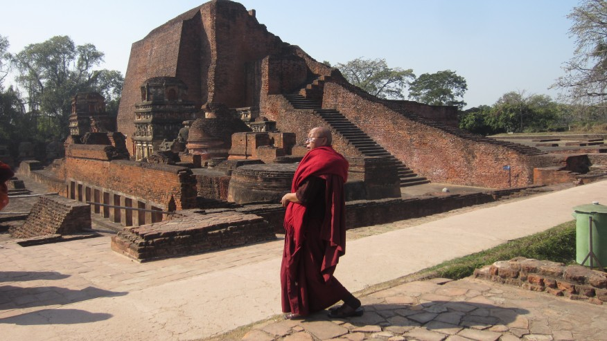Ancient ruins of the Mahavihara