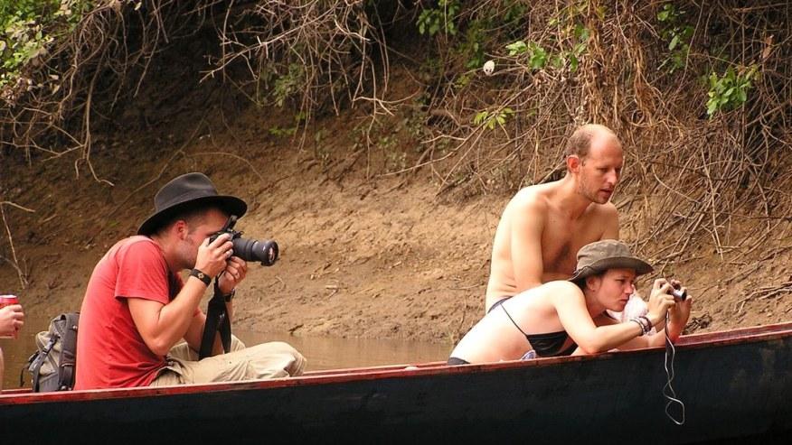 wildlife photography along the Tambopata River Tour