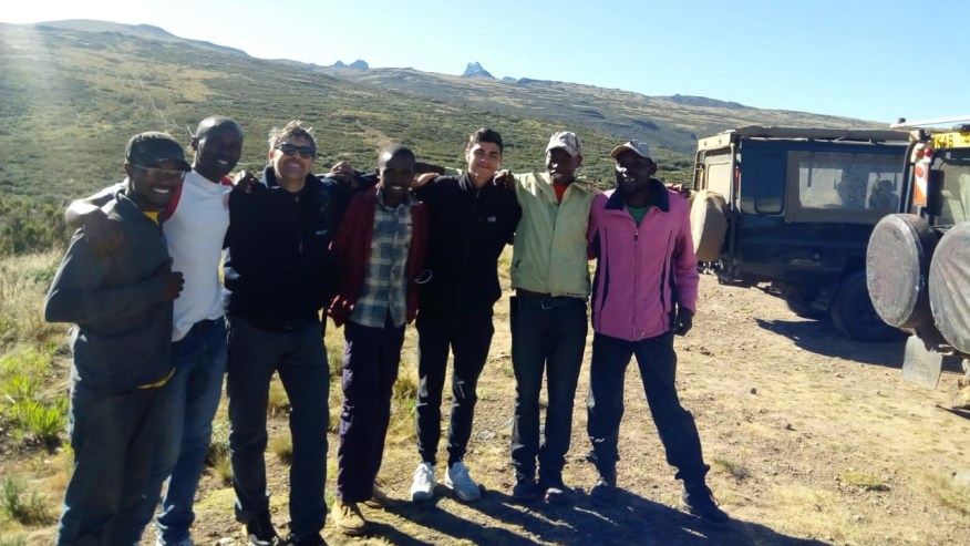 Mt Kenya Team