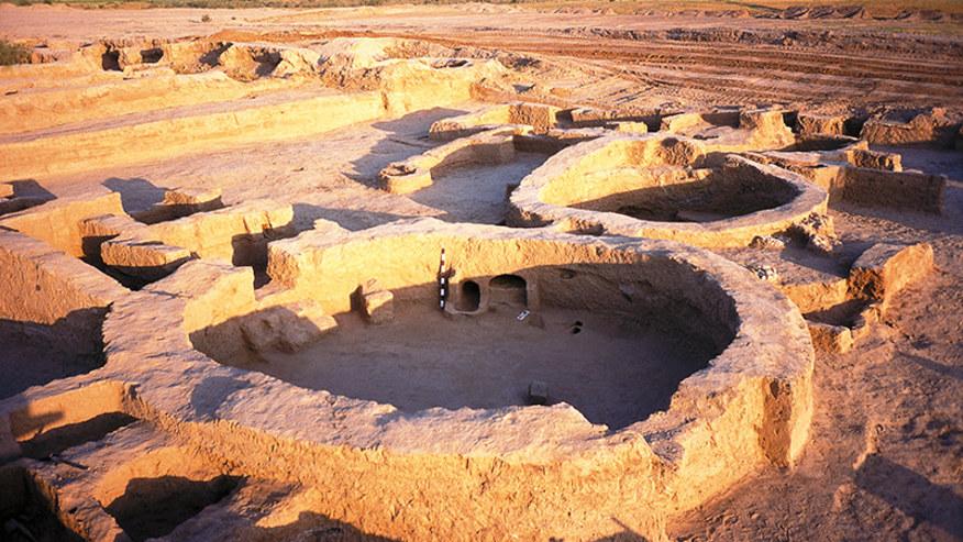 Ruins of Old Nisa