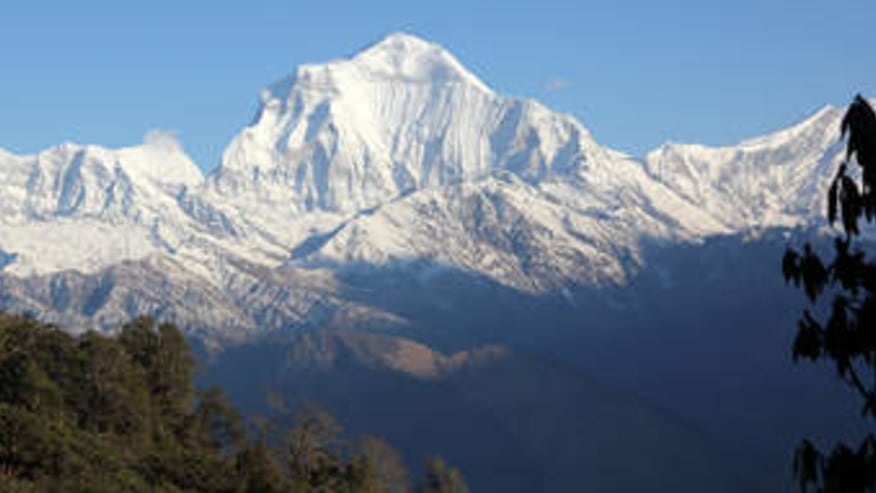 Exotic landscapes of the Himalayan trek