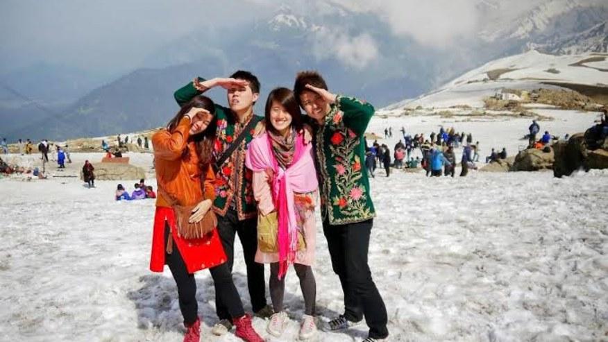 Enjoy the snow