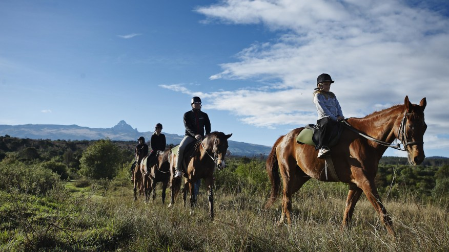Horse Riding Tours among the Many activities around Lake Naivasha