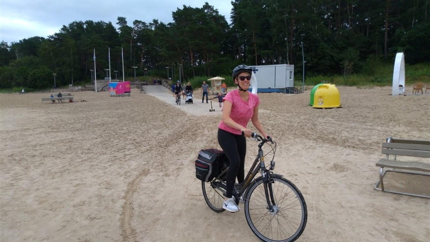 Bike tour in Jurmala