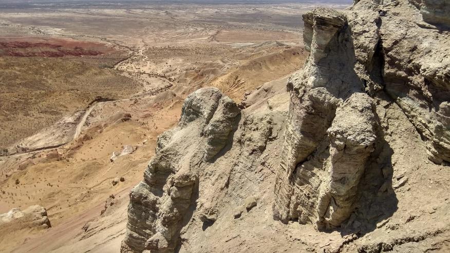 Badlands of Kazakhstan