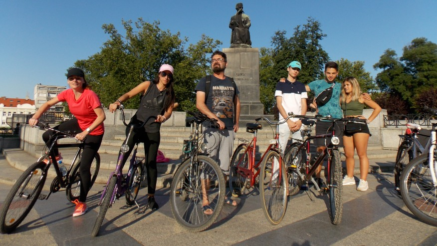 Cycle tour in Belgrade