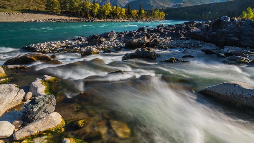 The Katun River