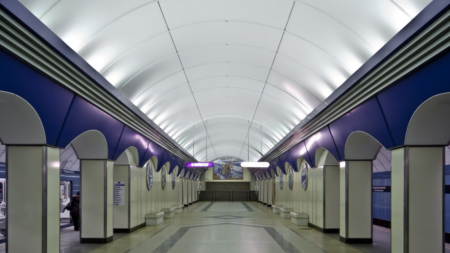 Descend into the Deepest Metro in the World