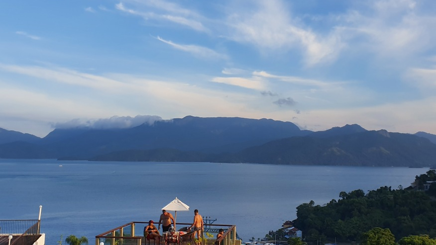 View of Ilha Grande from Portogalo Hotel