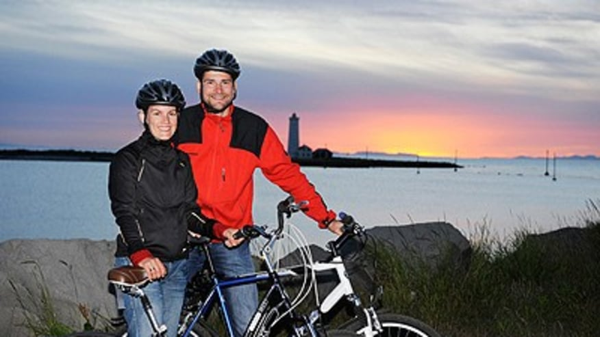 Go Cycling along the Coast of Iceland