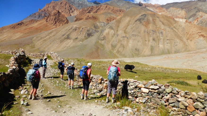 Hike to the Spiti Valley
