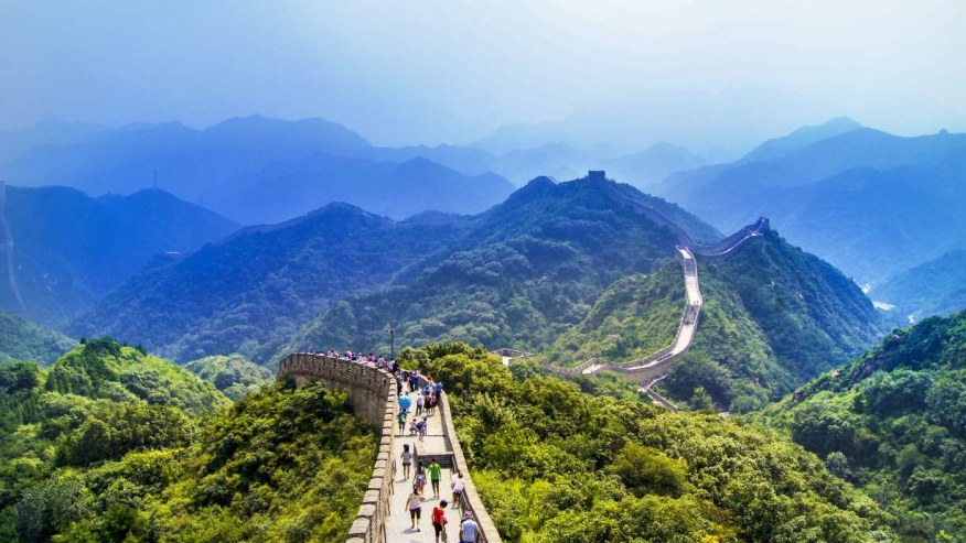 Get ready to do your monthly workout in one day as you walk on the Great Wall