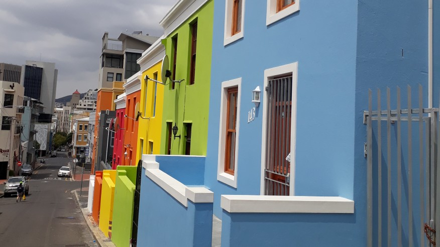 Bo-Kaap a colorful community in Cape Town