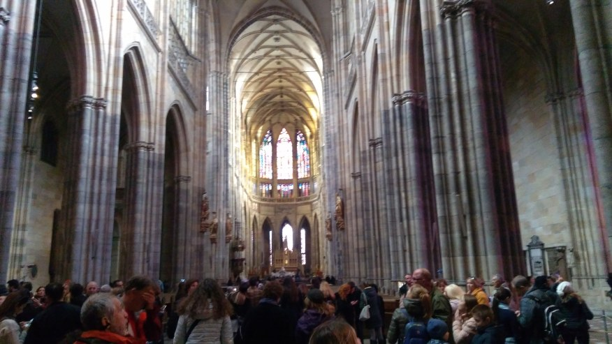 In the St. Vitus Cathedral