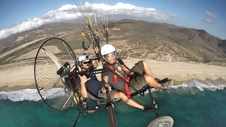 Tandem Powered Paragliding sessions