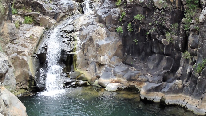 Waterfalls at the Golans