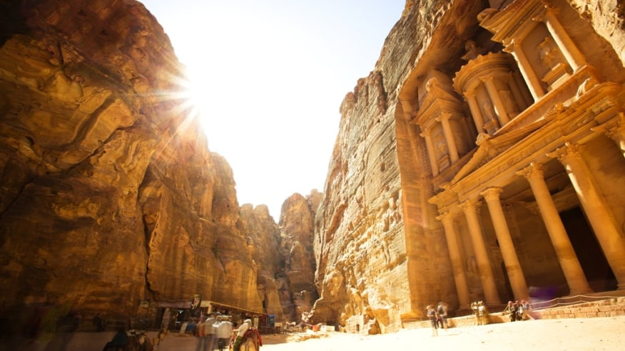 Historical city of Petra