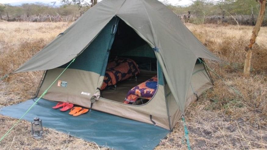 Camping in Chyulu-Walking Safari
