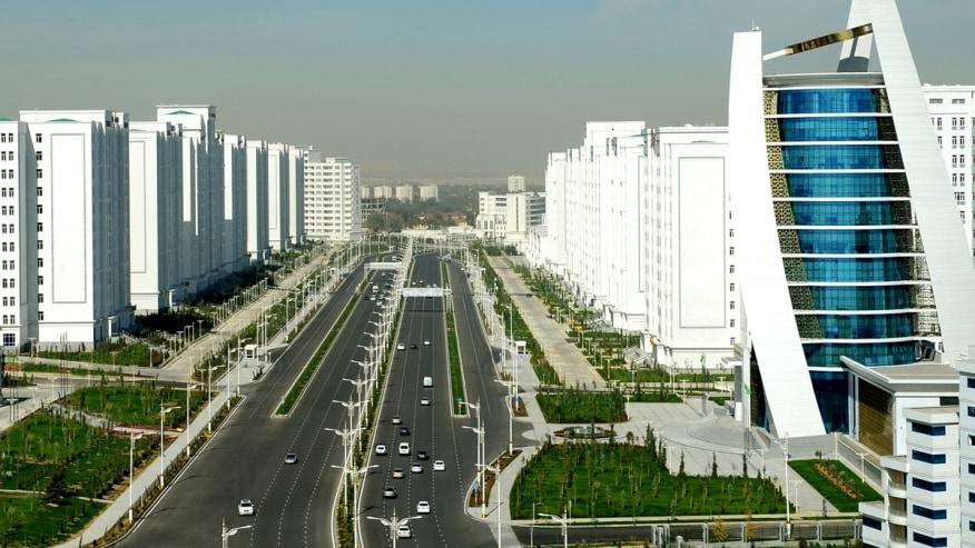 Sprawling Modern City