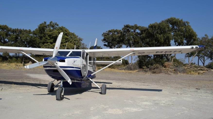 Scenic Flight, Okavango Delta