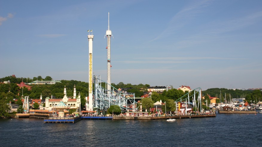 Djurgarden, Amusement Park,