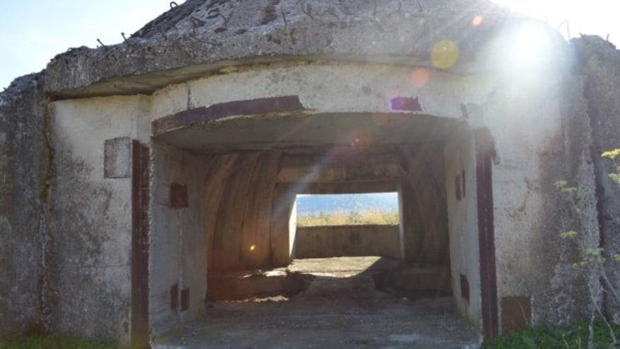 Bunkers around Albania
