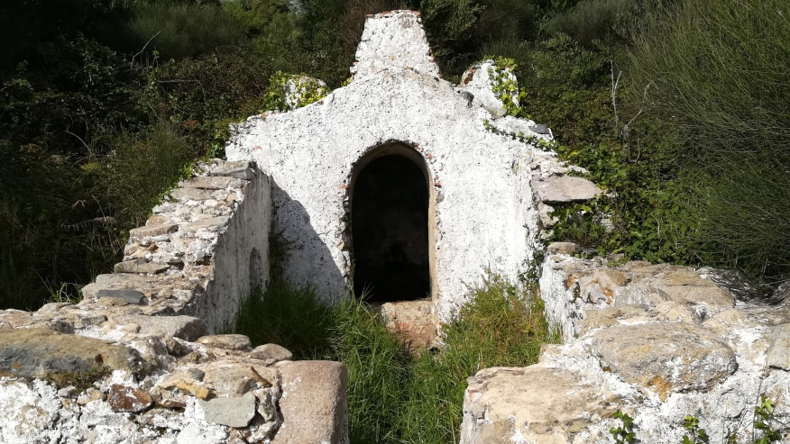One of the ruins scattered across the Sintra-Cascais Natural Park
