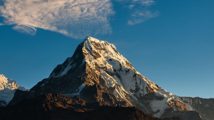Annapurna views