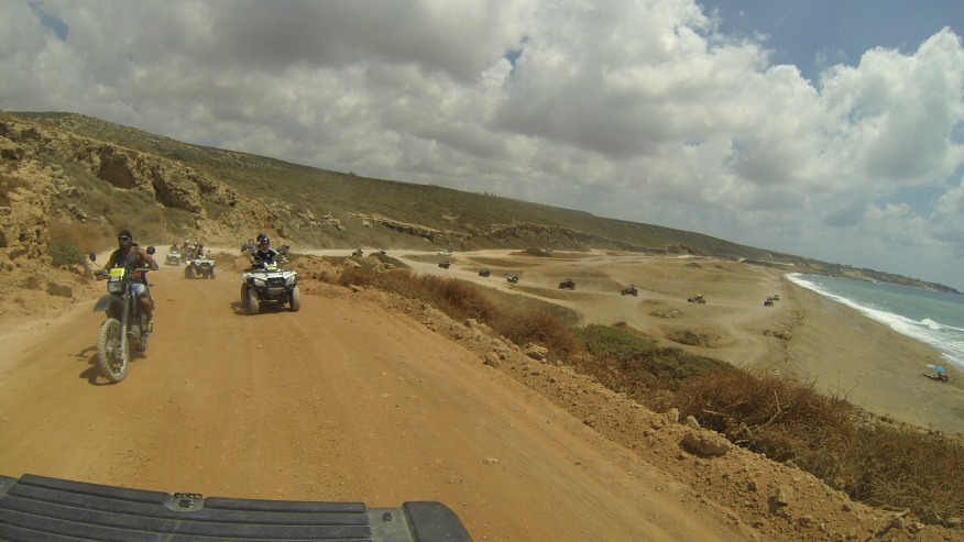 Lara Bay-Akamas Off-Roading