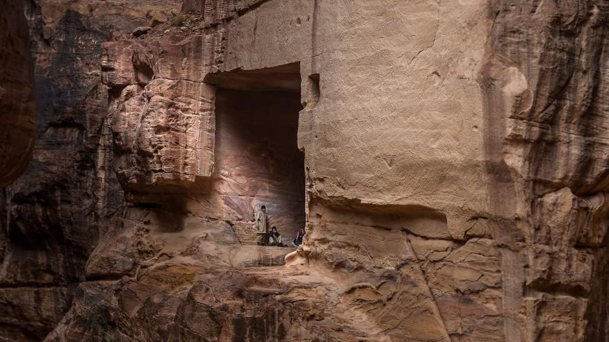 Tombs in Al Khazneh