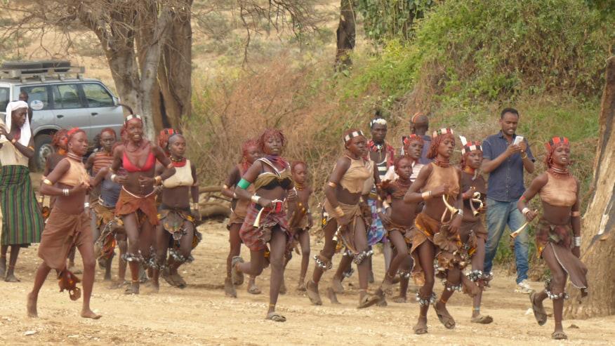 Local tribal women