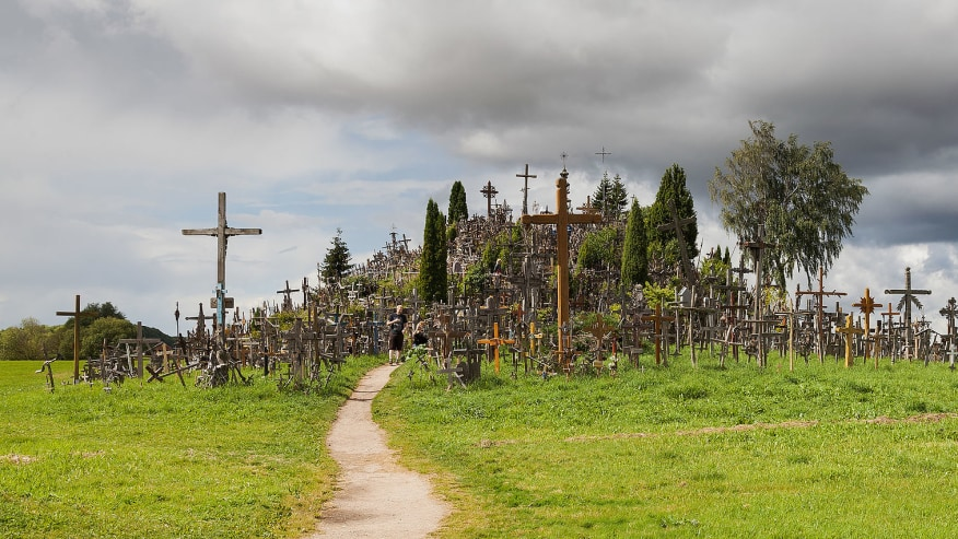Mingle on the Hill of Crosses