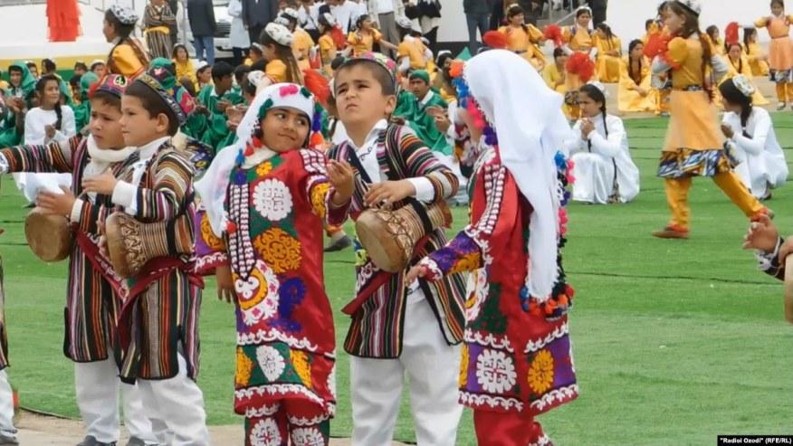 School Kids Participating