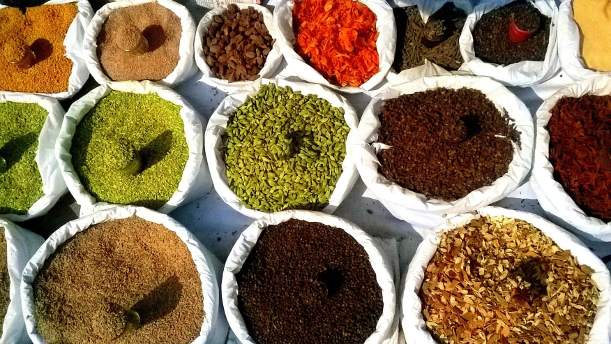 Inhale the fragrances of Old Delhi Spice Market