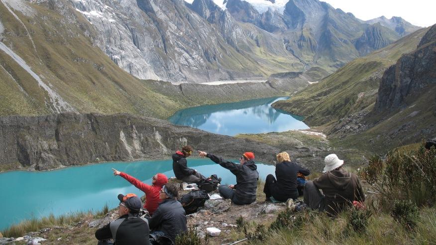 Siula Grande mountain