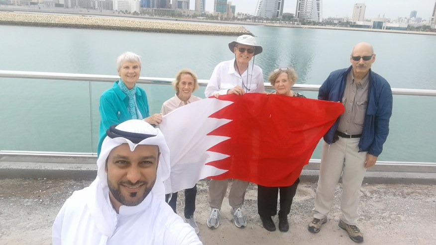 Bahrain Bay and World Trade Center