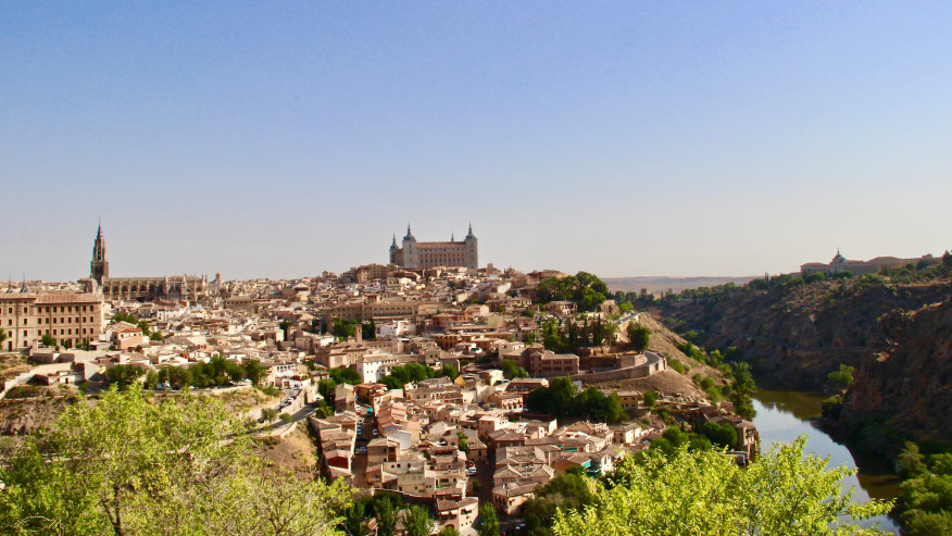 Toledo from a distance