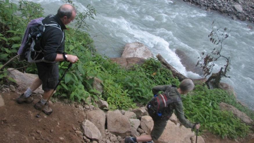 Trekking around Langtang in Nepal