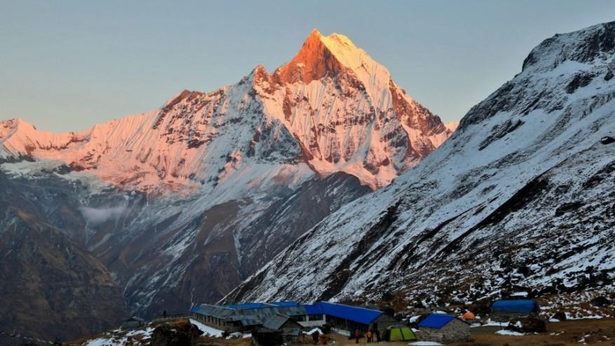 Hike to Annapurna Base Camp